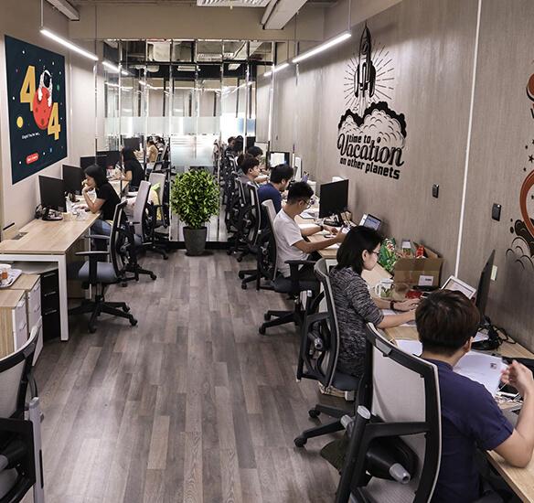 Văn phòng làm việc tại HCM