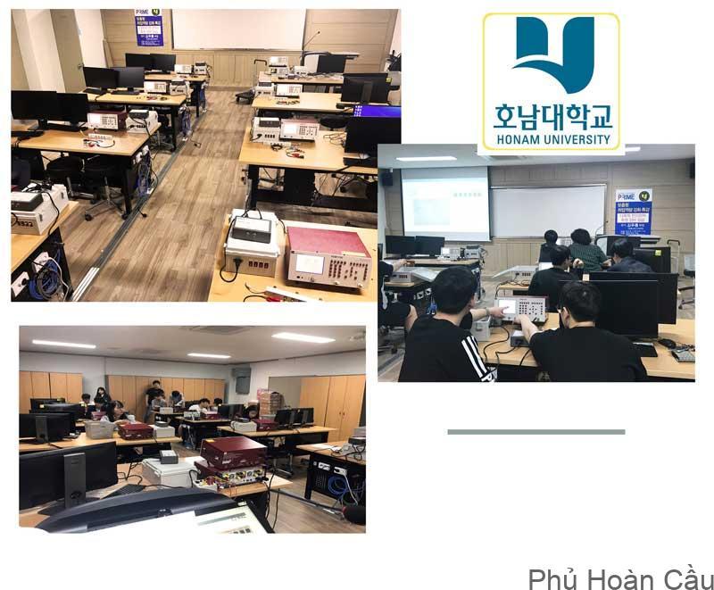 Chương trình giảng dạy và đào tạo tại đại học Honam Hàn Quốc