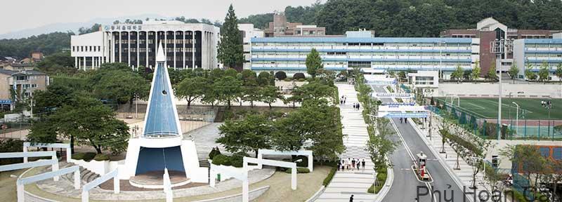 Đại học Dong Seoul là ngôi trường trẻ nhưng gặt hái nhiều thành tích