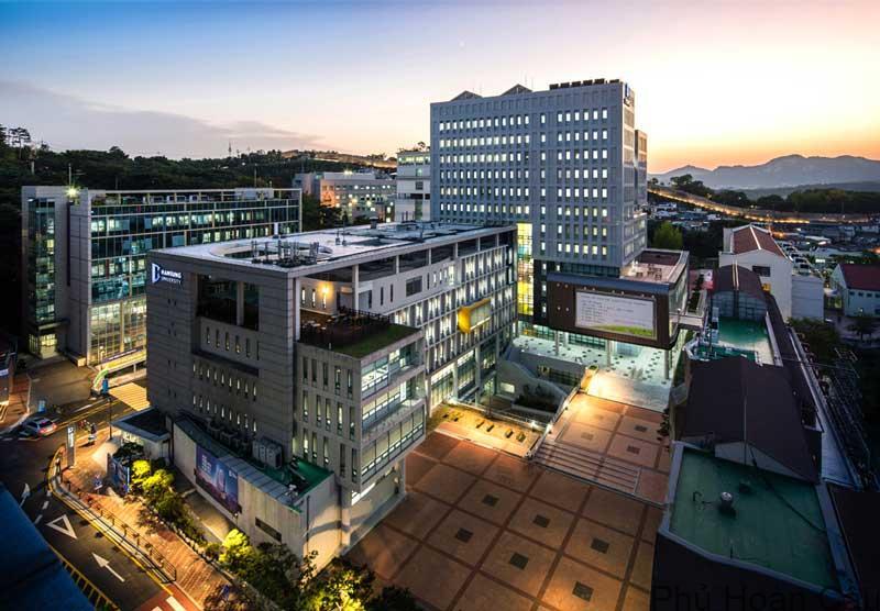 Đại học Hansung được trang bị cơ sở vật chất hiện đại, tiện nghi