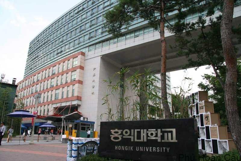 Đại học Hongik – nơi thực hiện đam mê nghệ thuật và thiết kế