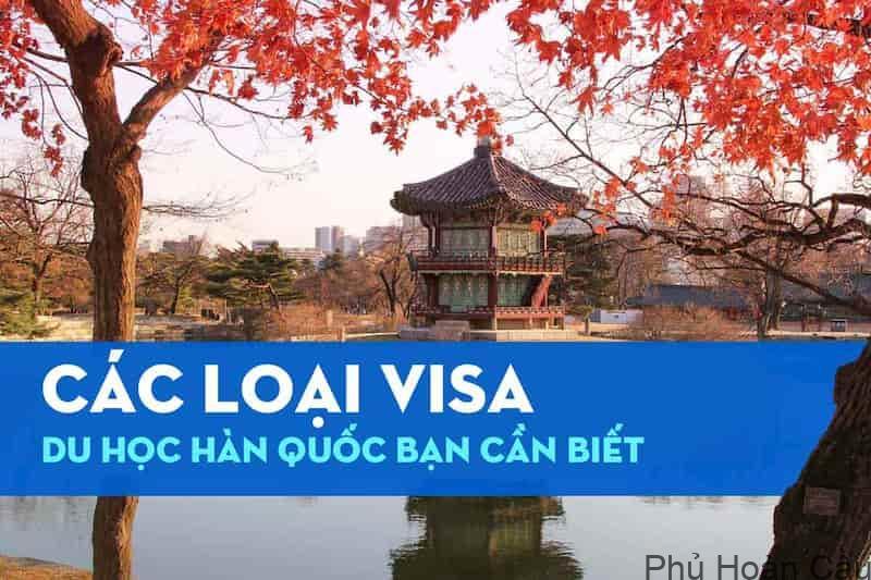 Danh sách các loại visa du học Hàn Quốc phổ biến bạn cần biết