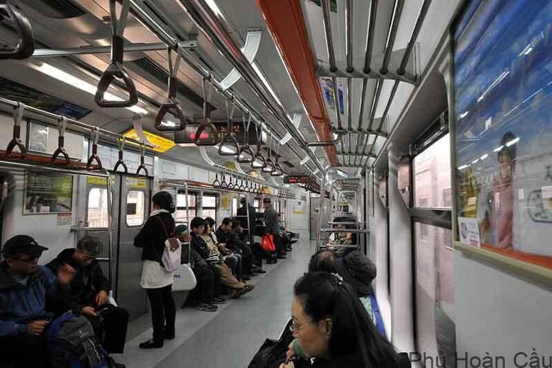 Hệ thống tàu điện ngầm đem lại lợi ích đáng kể cho người dân
