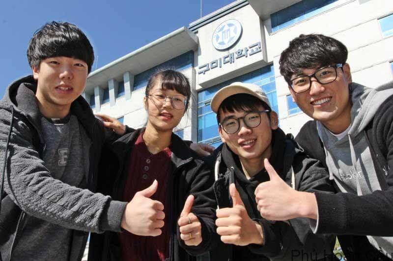 Môi trường học tập đa văn hóa tại đại học Gumi Hàn Quốc