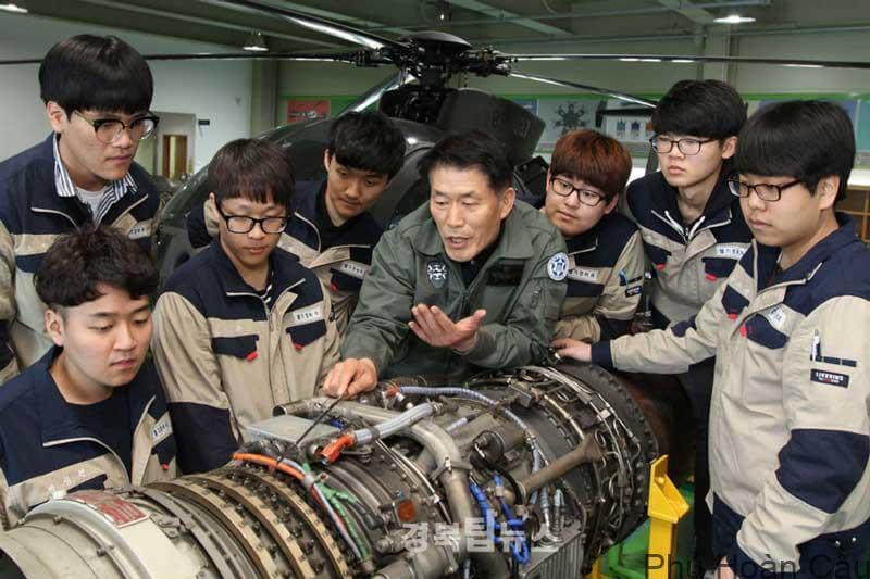 Ngành cơ khí - động hóa đại học Gumi Hàn Quốc