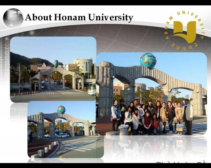 Tổng quan về trường đại học Honam Hàn Quốc