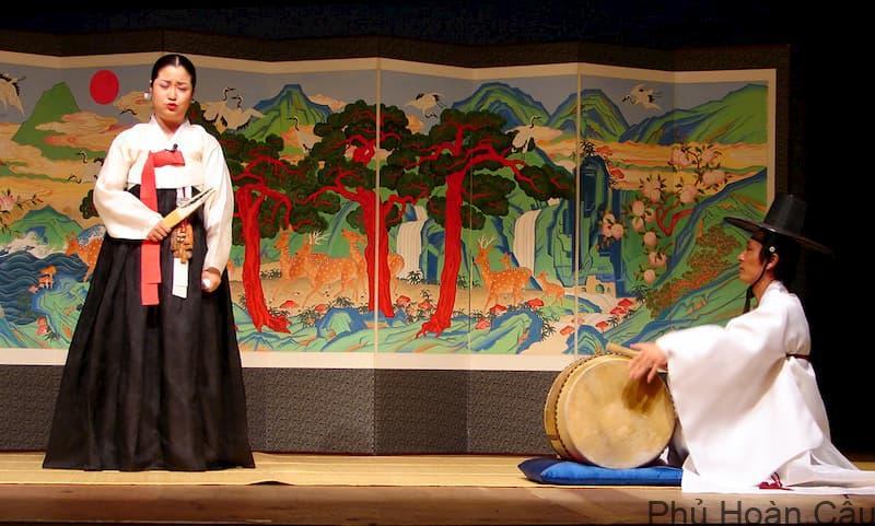 Âm nhạc truyền thống Pansori là nét tự hào của các tỉnh ở Hàn Quốc khu vực miền Nam