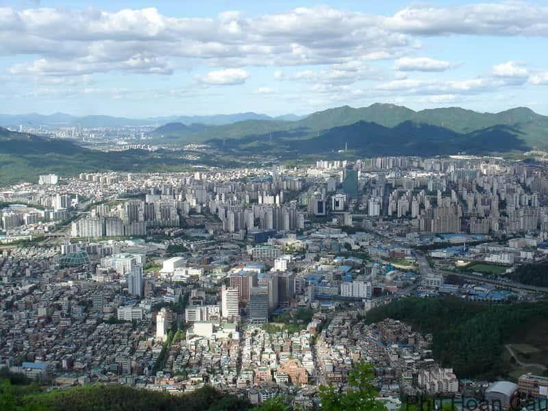 Anyang Hàn Quốc là thành phố thuộc tỉnh Gyeonggido