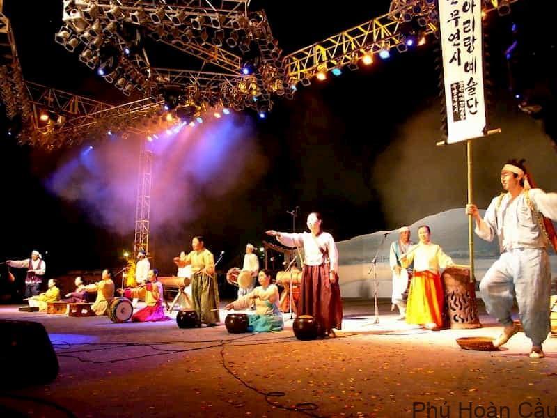 Bài hát Arirang được hát tại lễ hội Jeongseon Arirang