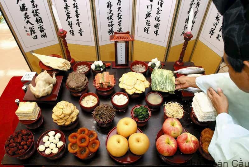 Bánh ngọt Hàn Quốc là món không thể thiếu ở các nghi lễ