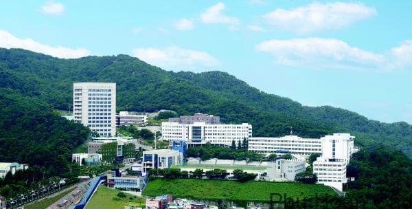 Khuôn viên Đại học Khoa học kỹ thuật Busan