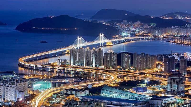 Các thành phố lớn của Hàn Quốc: 7 thành phố đáng sống nhất Hàn Quốc