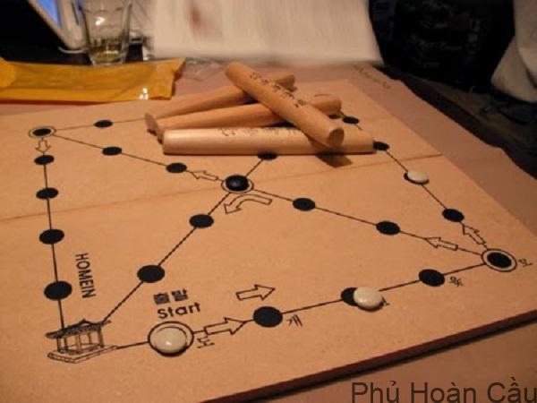 Cách chơi trò Yutnori Hàn Quốc