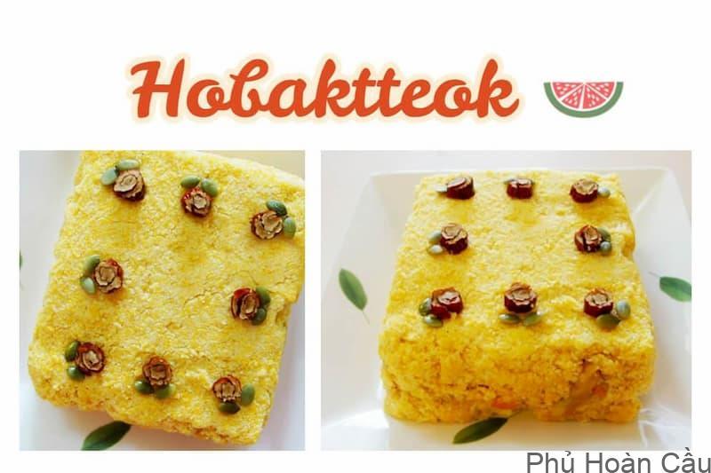 Cách làm bánh bí đỏ Hàn Quốc Hobaktteok-món ngon từ bí đỏ đúng nhất
