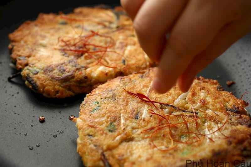 Cách làm bánh kếp Hàn Quốc rất đơn giản