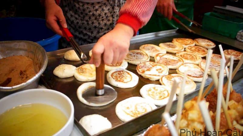 Cách làm bánh rau củ Hàn Quốc Hotteok