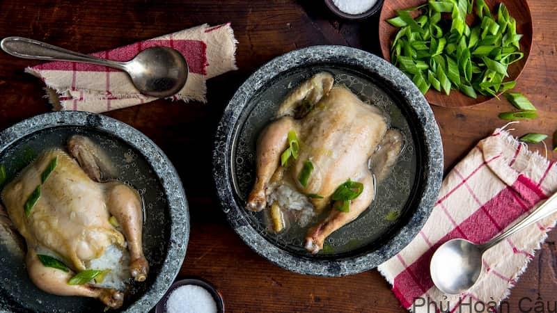 Cách làm gà hầm sâm Hàn Quốc Samgyetang - đặc trưng mùa hè ở Hàn