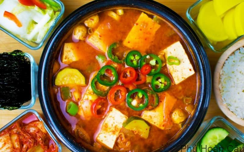 Cách nấu canh đậu tương Hàn Quốc Doenjang jjigae chuẩn vị Hàn nhất