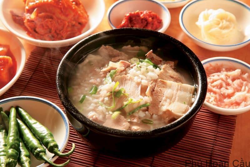 Canh thịt lợn Hàn Quốc