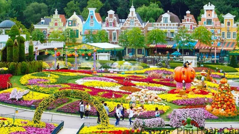 công viên giải trí Everland tại tỉnh Gyeonggi