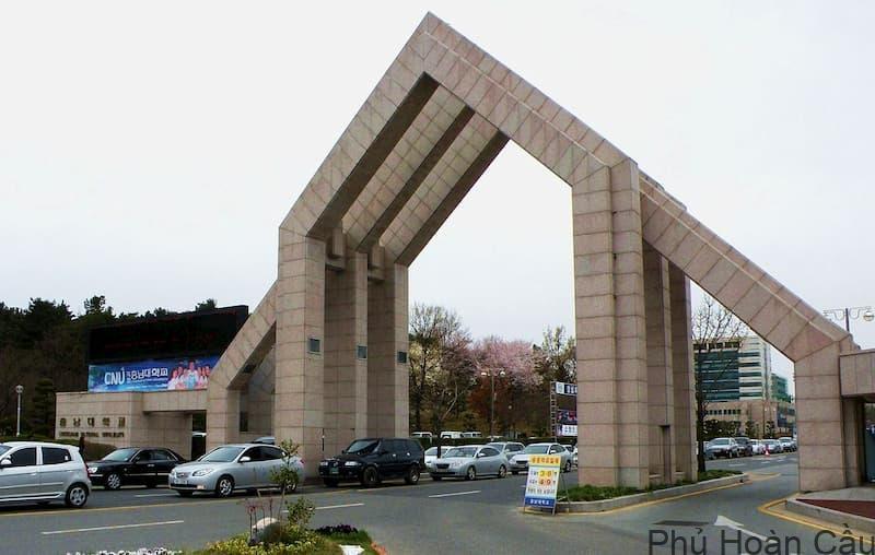 Đại học Chungnam Hàn Quốc: Top trường đại học quốc gia uy tín nhất