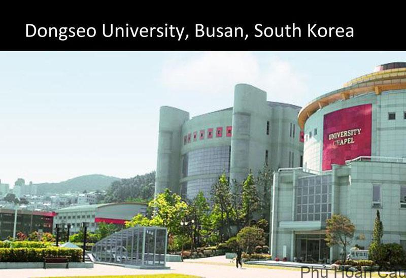 Đại học Dongseo Busan với hơn 198 trường liên kết trên toàn thế giới