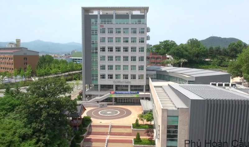 Đại học Kangwon vốn là tiền thân của đại học quốc gia Kangwon