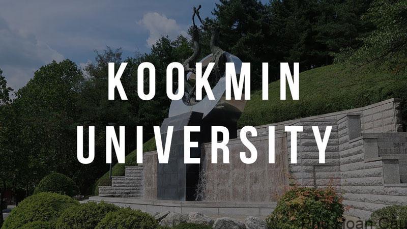 Đại học Kookmin-Hàn Quốc - Ngôi trường danh giá bậc nhất xứ Hàn