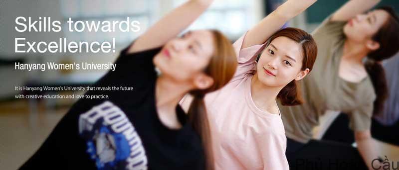 Đại học nữ Hanyang - ngôi trường chuyên đào tạo nữ sinh hàng đầu Hàn Quốc