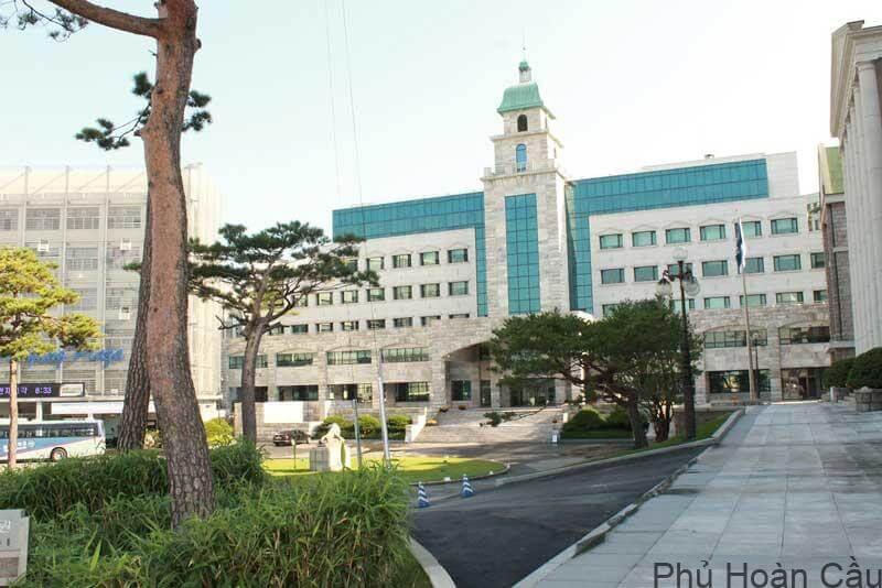 Đại học nữ Hanyang tọa lạc tại khuôn viên rộng đến 118.749 mét vuông