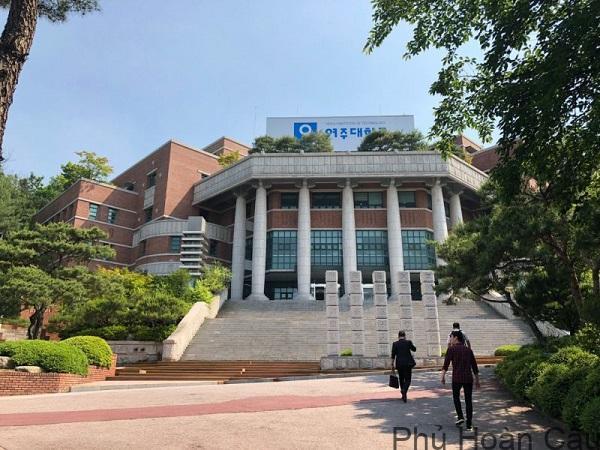 Đại học Yeoju thu hút sinh viên học tập