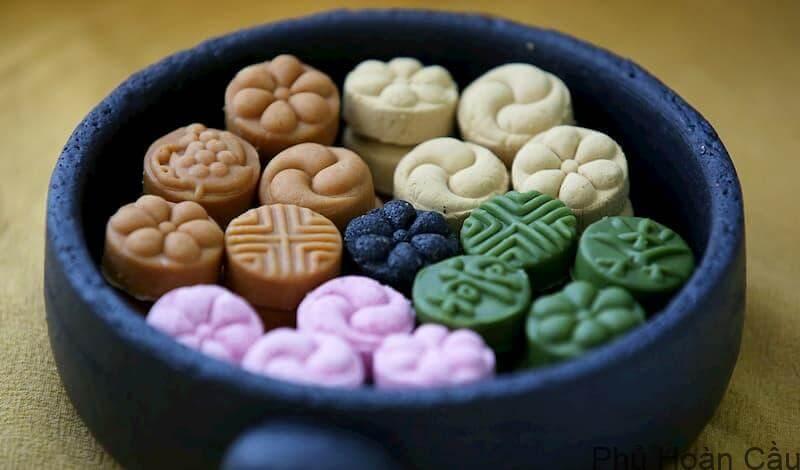 Dasik - một trong các loại bánh quy Hàn Quốc