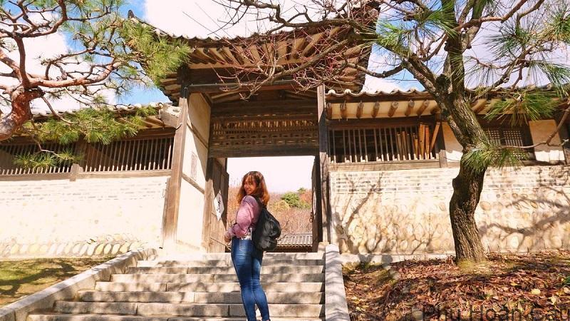 Làng Minsok được xem là biểu tượng của văn hóa Hàn Quốc