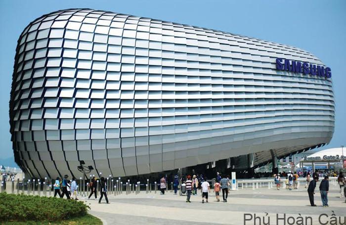 Tập đoàn Sam sung là tập đoàn kỹ thuật lớn nhất thế giới
