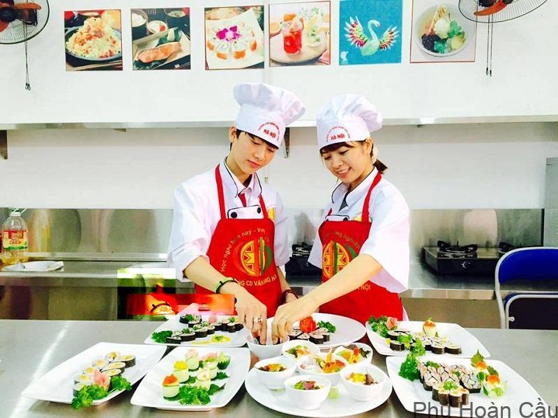 Có nhiều trường đào tạo nghề nấu ăn mà bạn có thể đăng ký