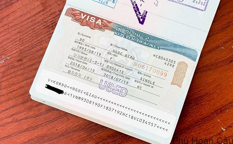 e-visa Hàn Quốc