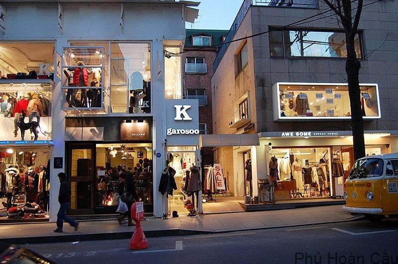Đường Garosu-gil là con đường nổi tiếng nhất tại Gangnam, Hàn Quốc