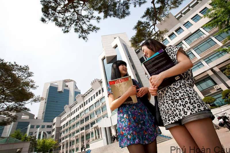 Học bổng trường Bucheon rất phong phú