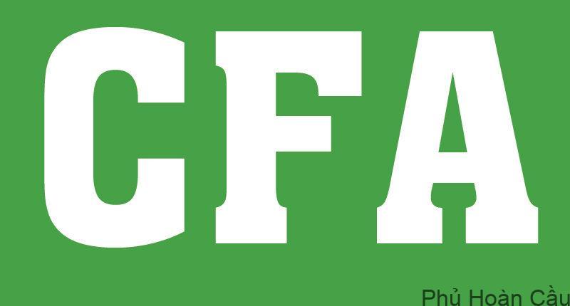 học bổng du học Mỹ CFA
