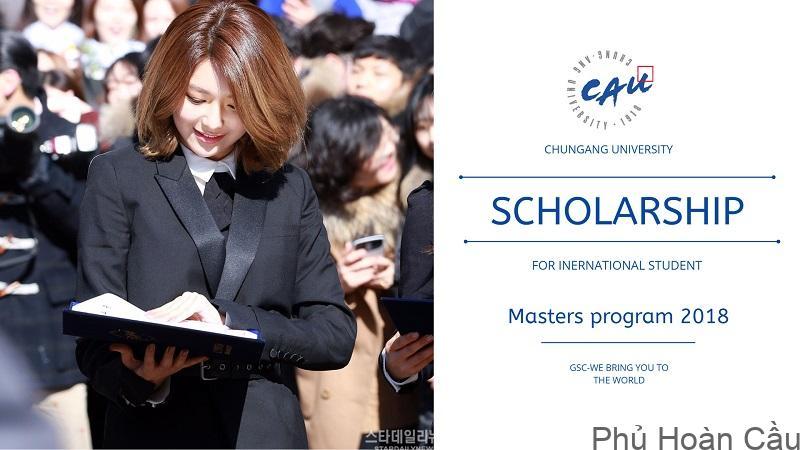 Đại học Chung Ang Học bổng