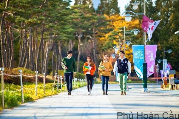 Học bổng tại Đại học âm nhạc Hàn Quốc