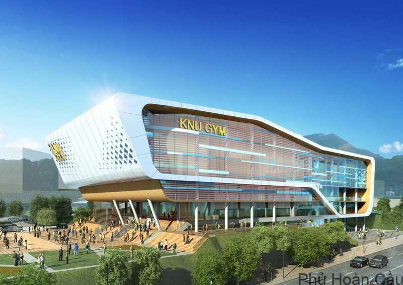 Khu trung tâm giáo dục thể thao và sức khỏe trường Kangwon