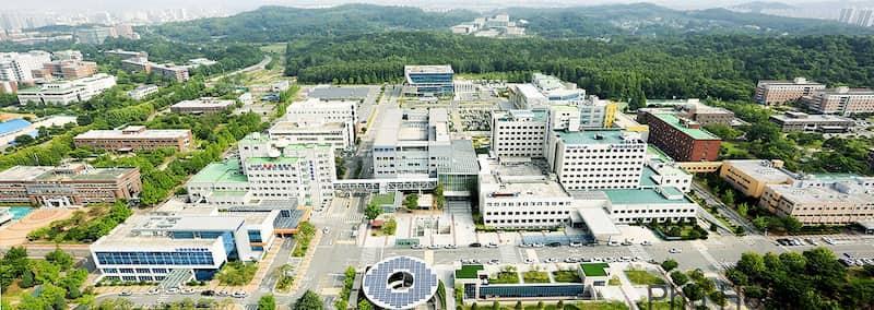Khuôn viên đại học Chonbuk Hàn Quốc