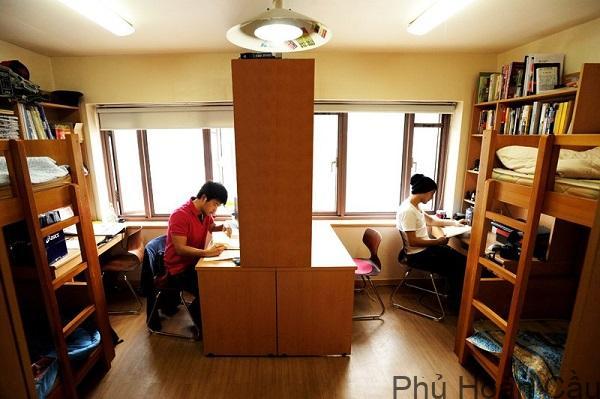 Ký túc xá trường Đại học Sogang Hàn Quốc
