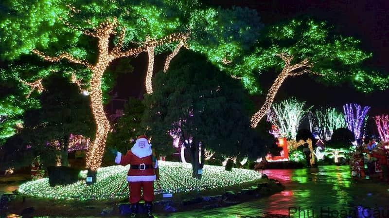 Lễ hội ánh sáng tại Ansan Hàn Quốc