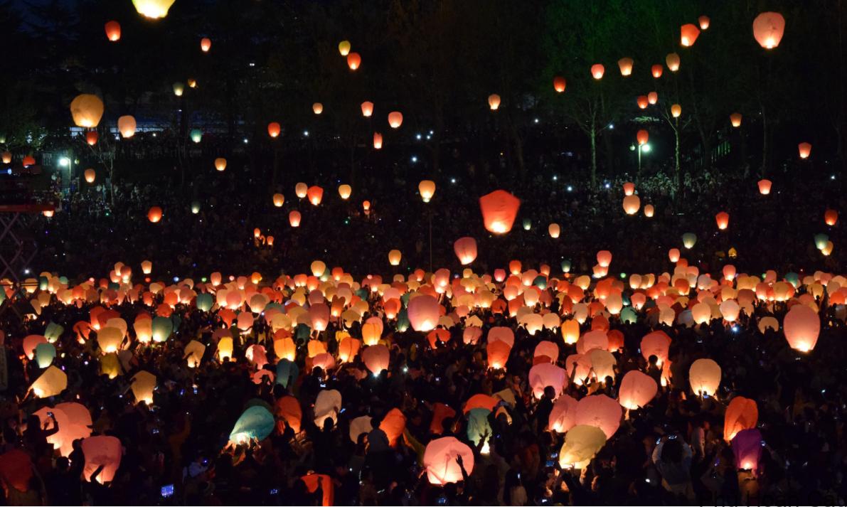 Lễ hội đèn lồng Hàn Quốc lung linh sắc màu