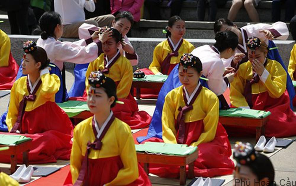 Lễ trưởng thành ở Hàn Quốc xuất phát từ thời Cao Ly