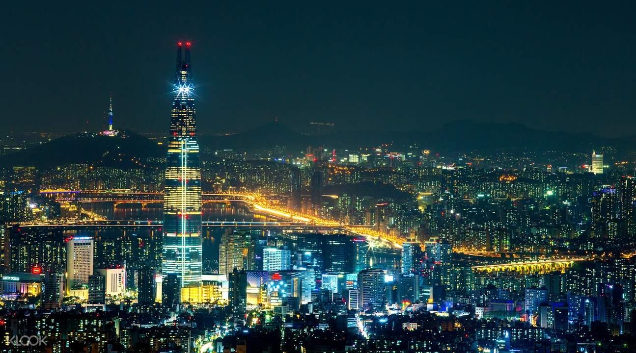 Lotte Tower Hàn Quốc - tòa nhà cao nhất Hàn Quốc