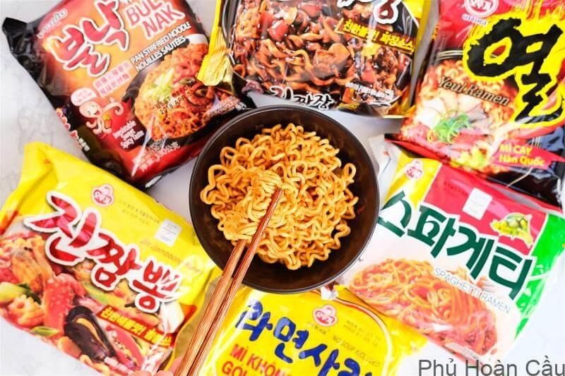 Mì tôm Hàn Quốc - món ăn dân dã và phổ biến tại Hàn