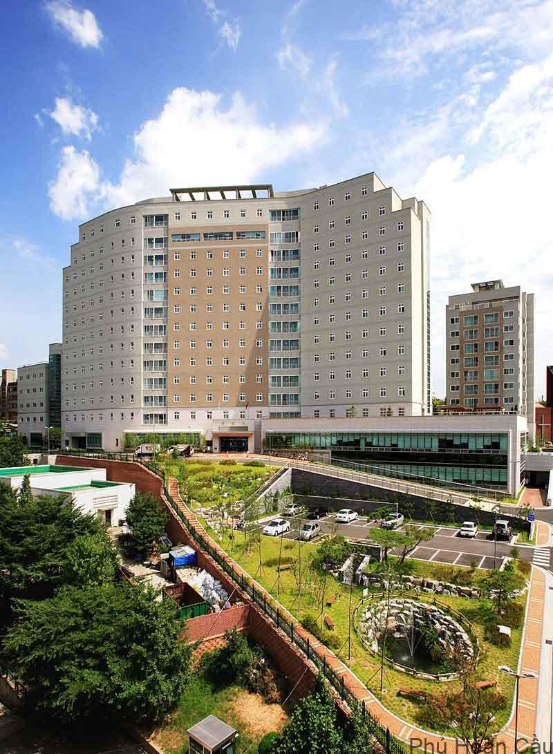 Một trong những khu ký túc xá hiện đại của trường đại học Inha Hàn Quốc